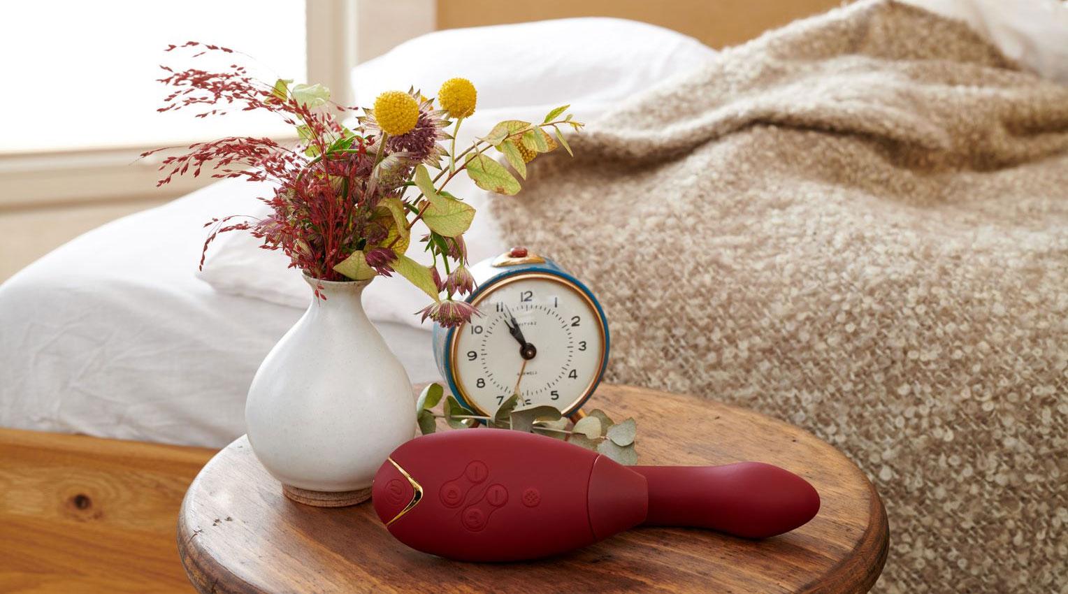 Womanizer DUO Pleasure Air Clitoral Stimulator & G-Spot Vibrator - In The Wild