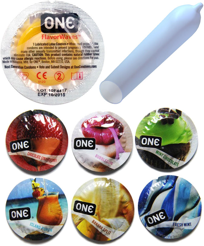 ONE® Flavor Waves Condoms