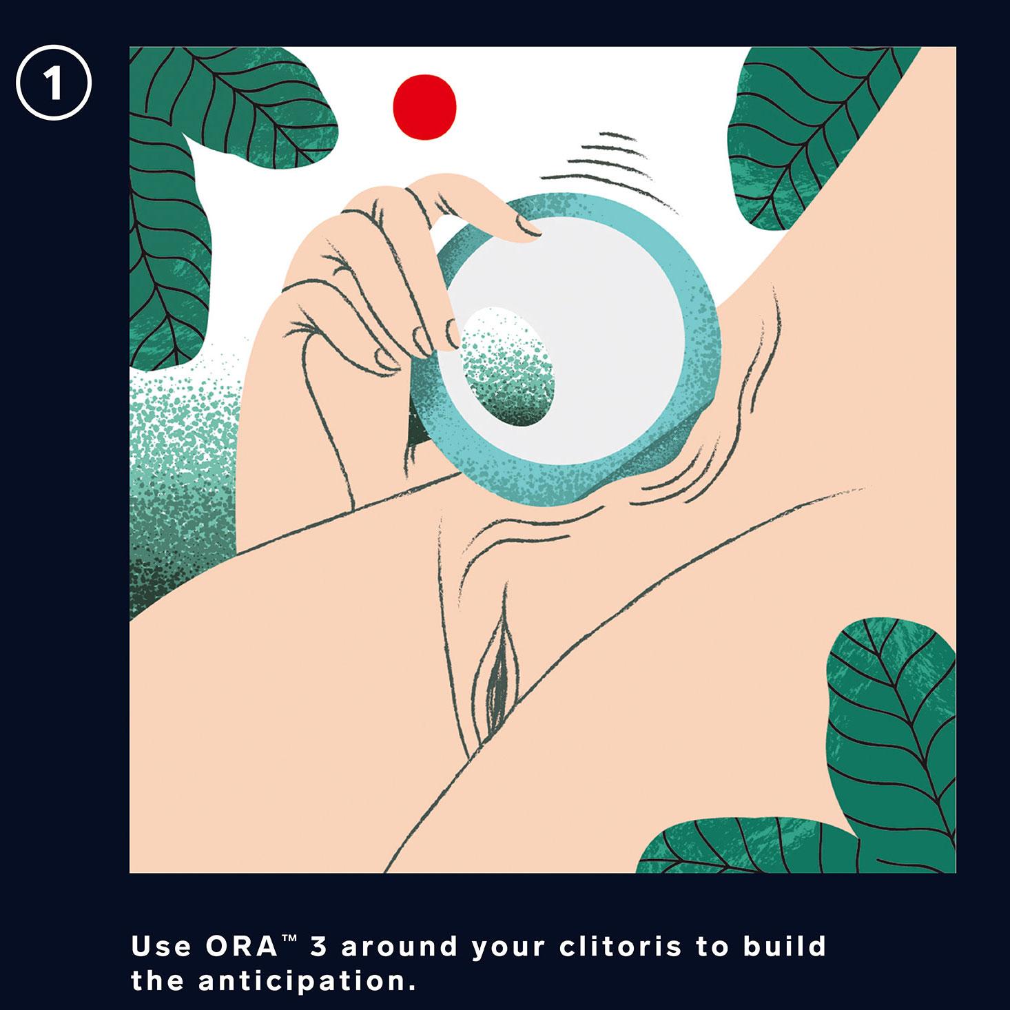 LELO ORA 3 Vibrating Rotating Oral Sex Stimulator - How To 1