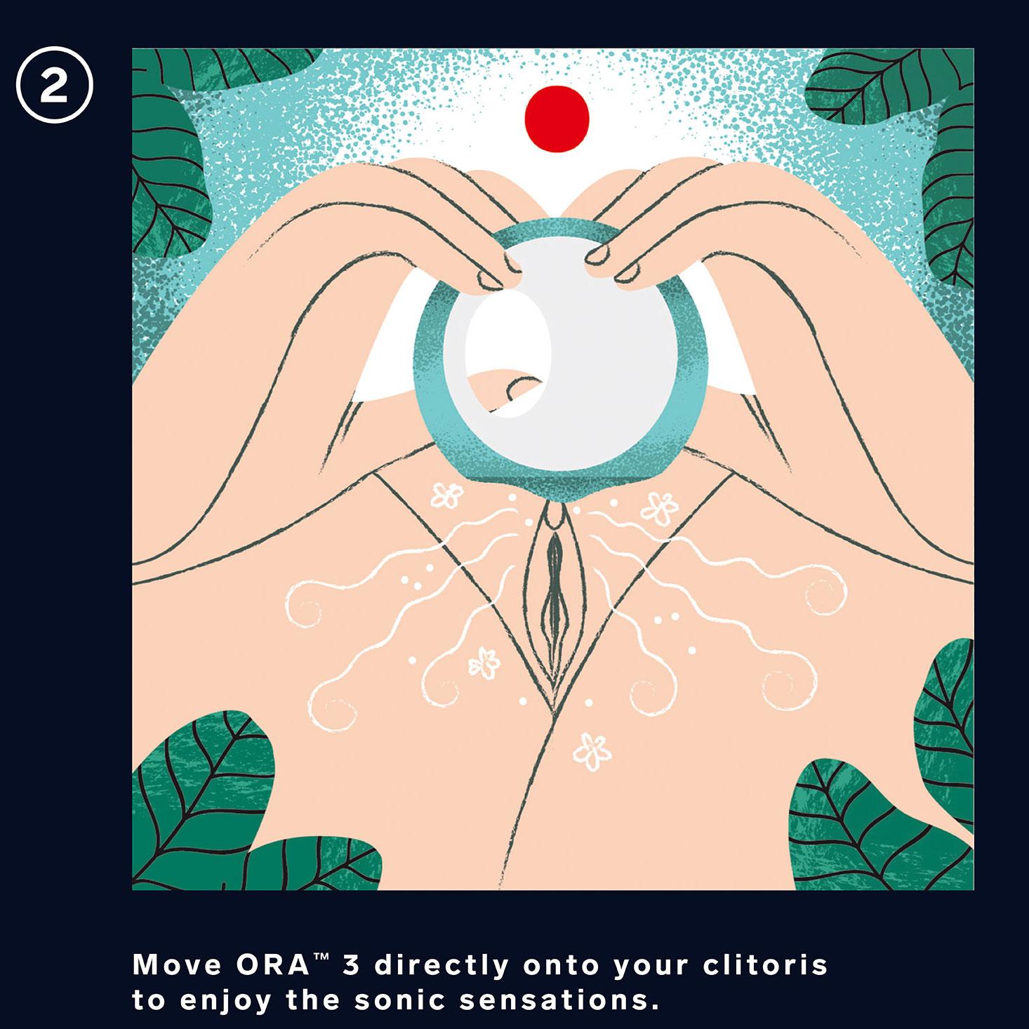 LELO ORA 3 Vibrating Rotating Oral Sex Stimulator - How To 2