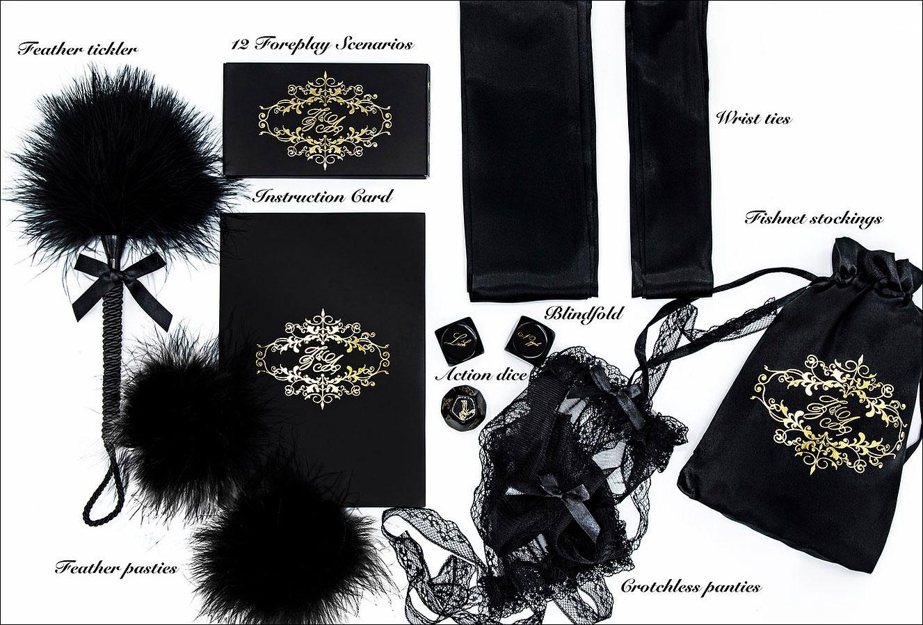 Zoe & Alexandra Midnight Enchantress Romantic Accessory Boudoir Box - What's Inside?
