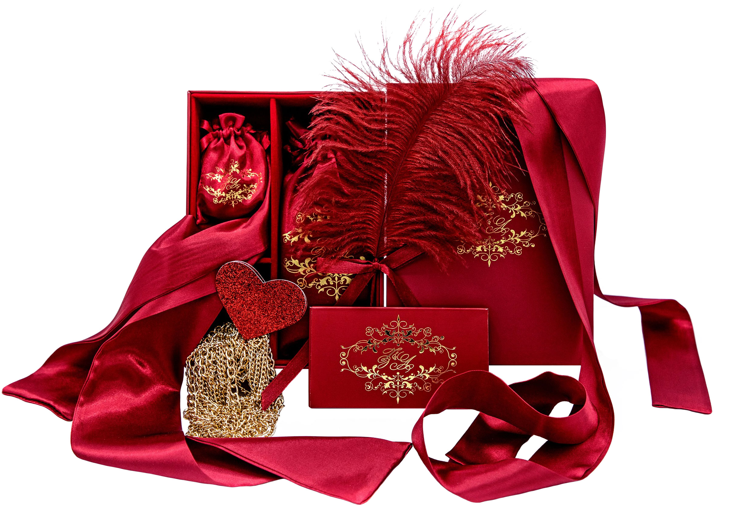 Zoe & Alexandra Passionate Priestess Romantic Accessory Boudoir Box
