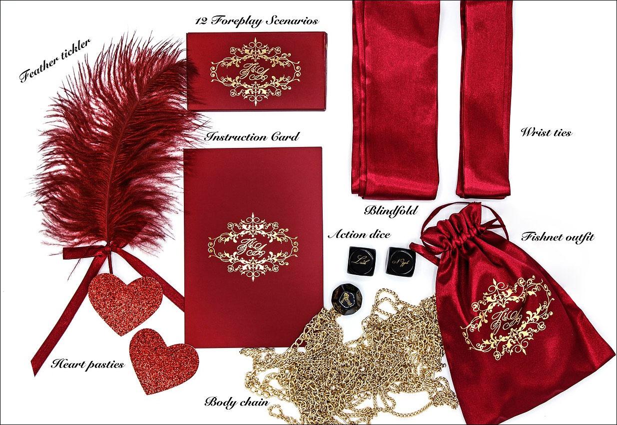 Zoe & Alexandra Passionate Priestess Romantic Accessory Boudoir Box - What's Inside?