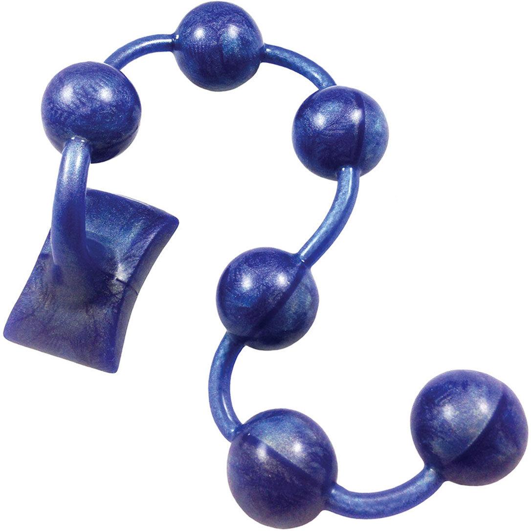 Sapphire Gemstones Silicone Anal Beads