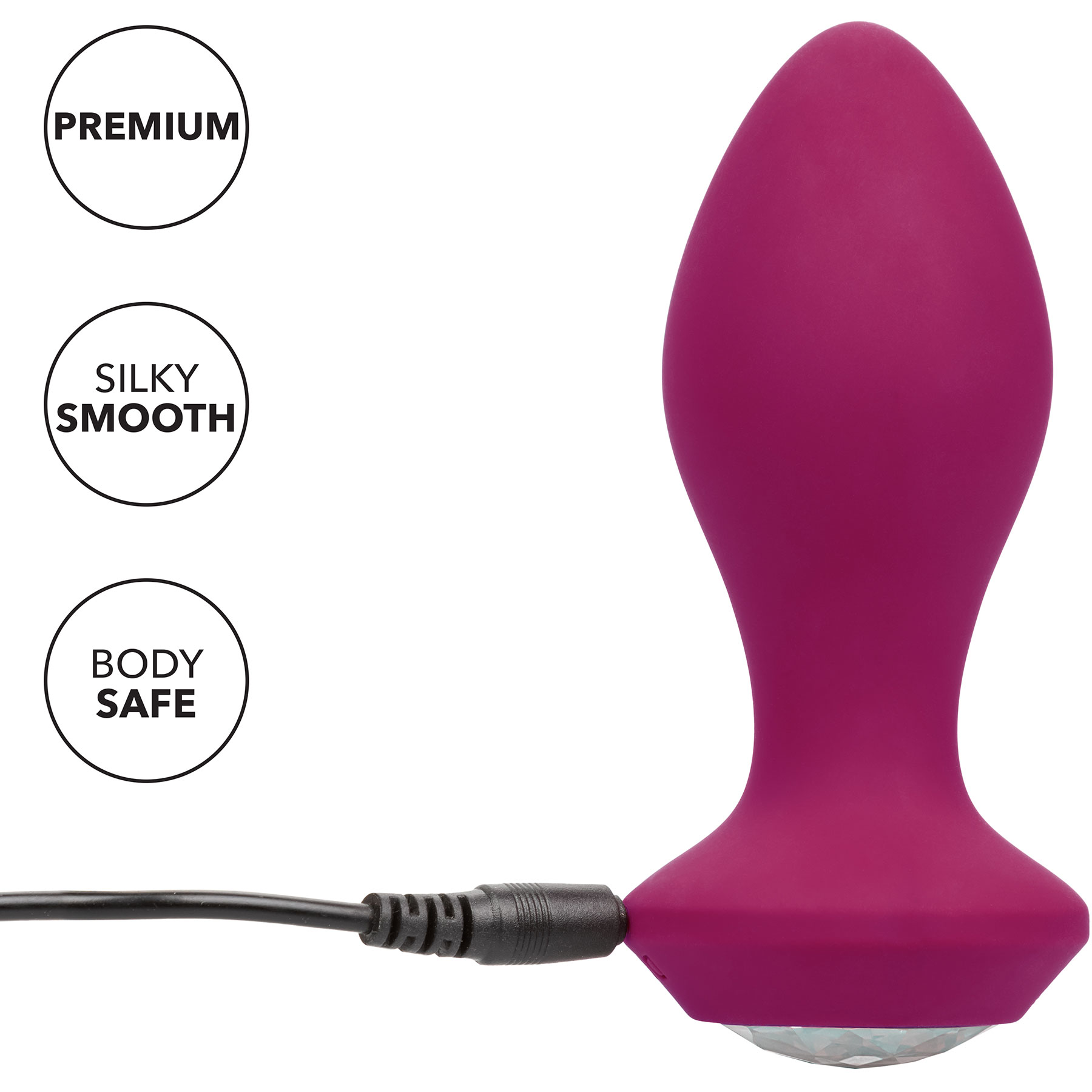 Power Gem Silicone Vibrating Crystal Probe - Features
