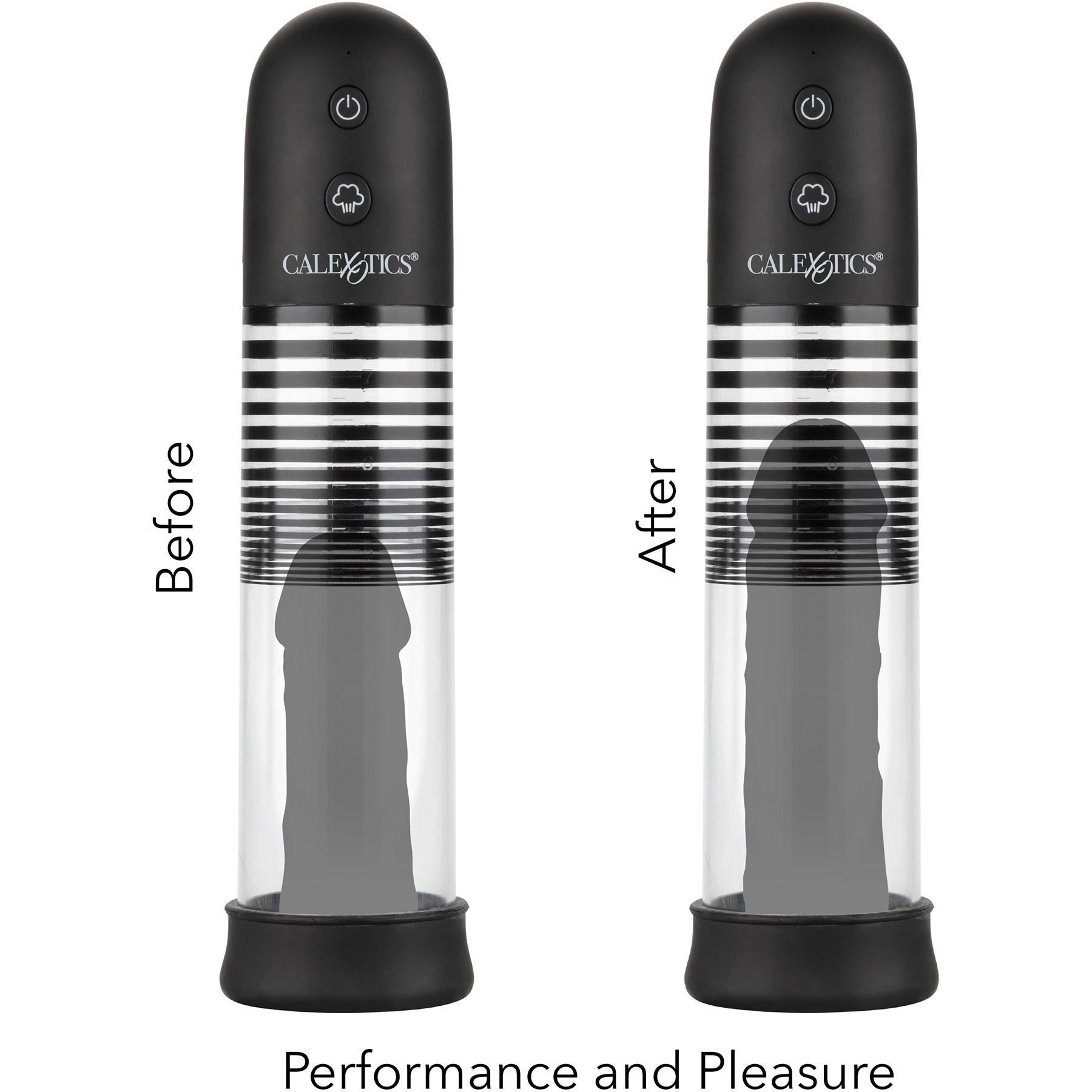 Optimum Series Rechargeable EZ Penis Pump Kit - Results