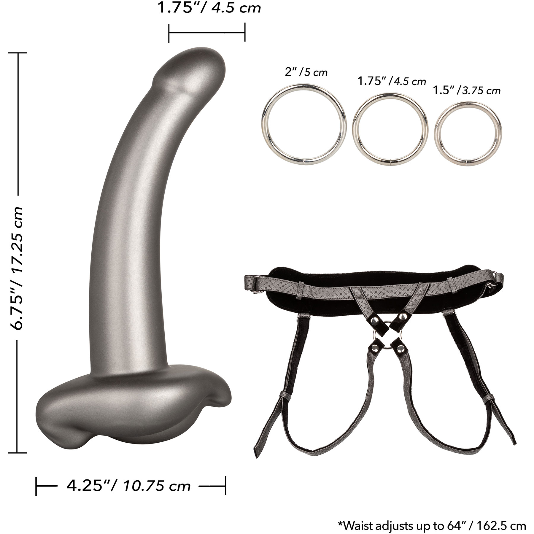 Her Royal Harness The Royal Ultra-Soft Set With Silicone Probe - Included