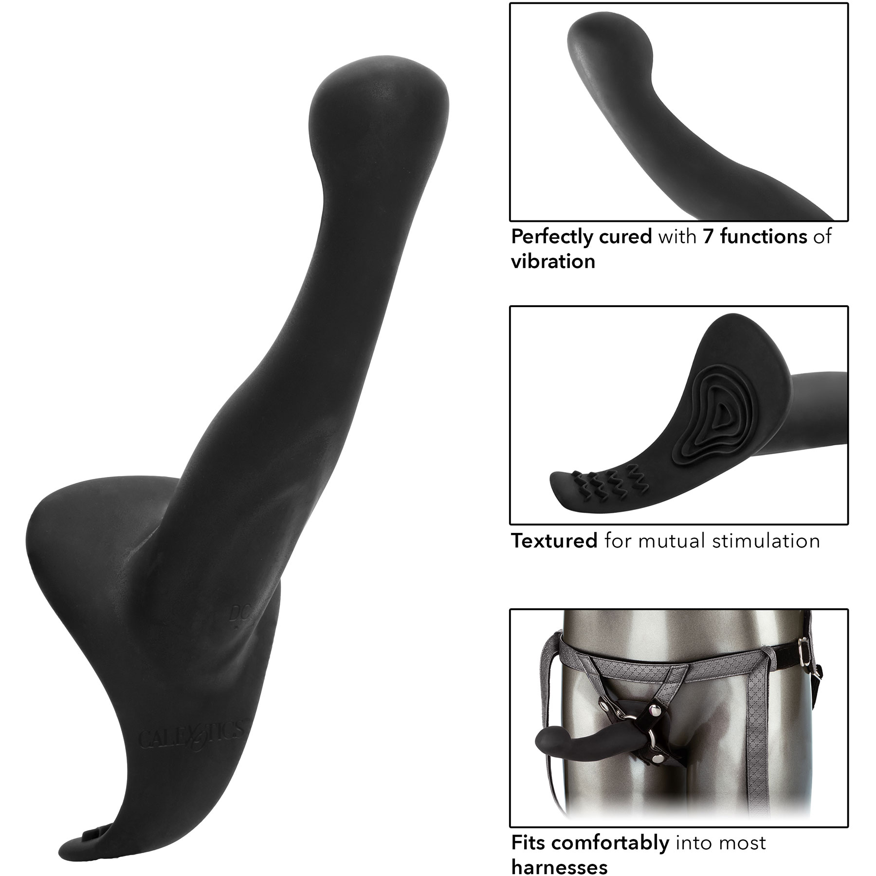 Her Royal Harness The Royal Vibrating Set With Vibrating Silicone Probe - More Features