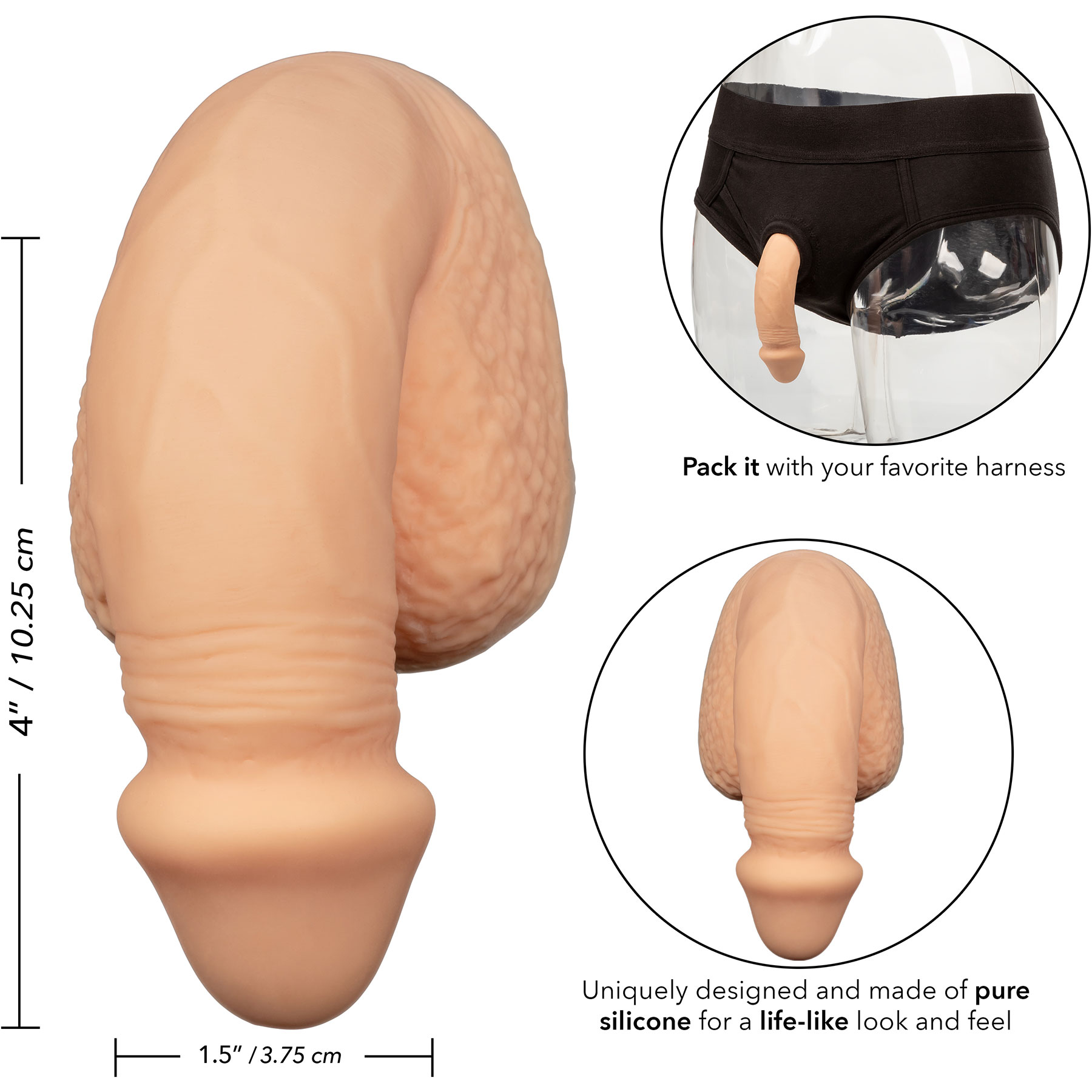 Packer Gear Silicone Packing Penis 4