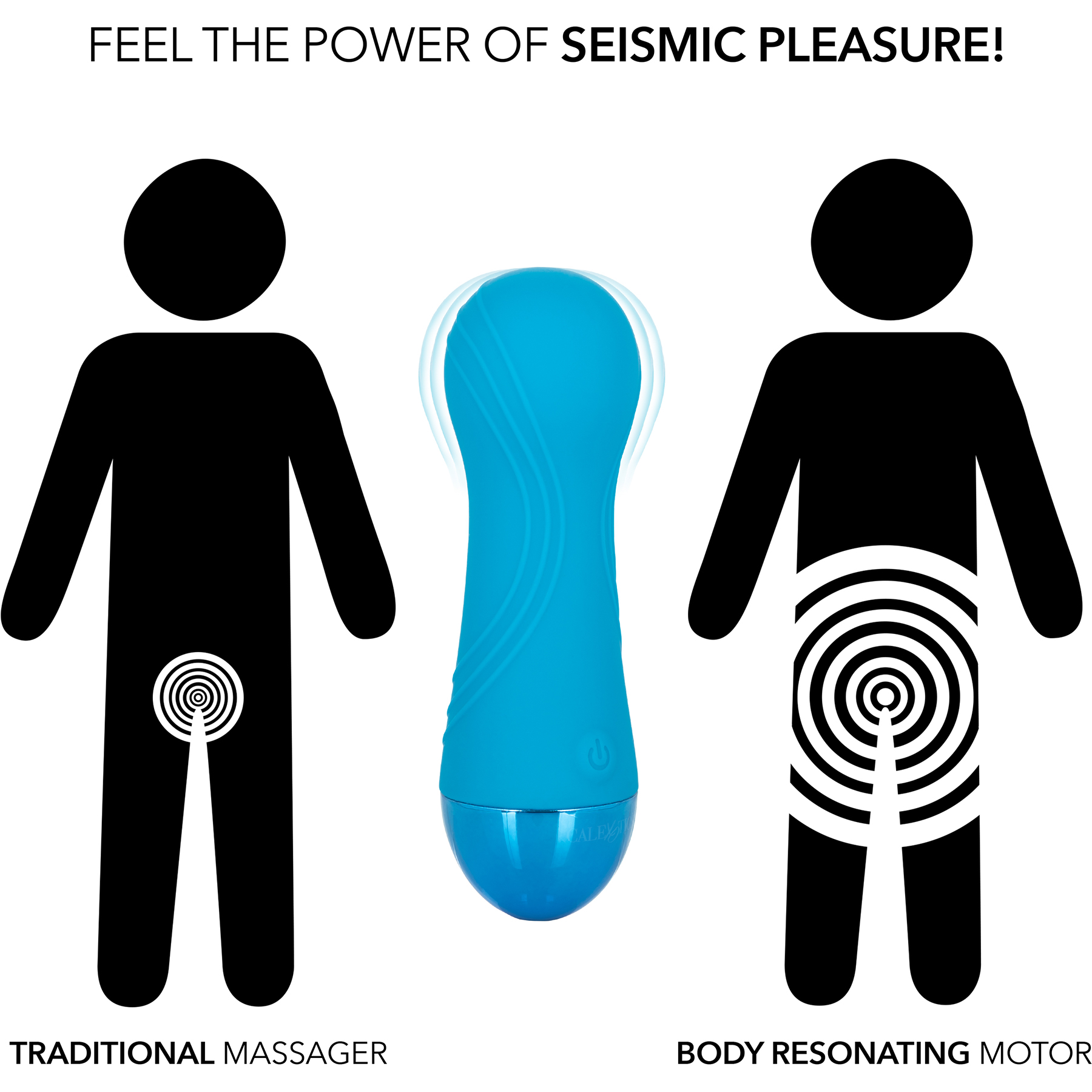 Tremble Tease Waterproof Rechargeable Silicone Seismic Vibrator - Comparison