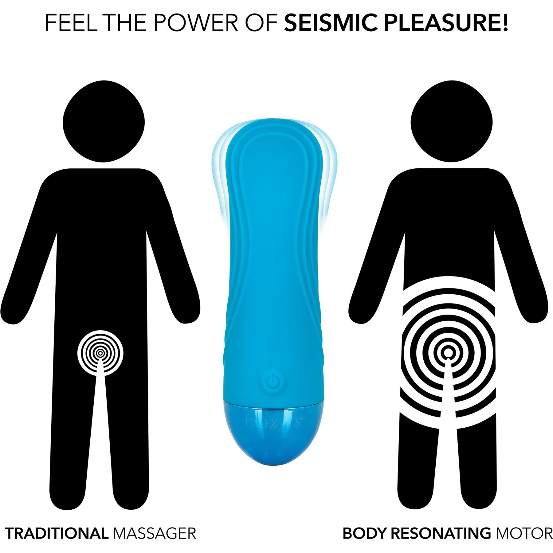 Tremble Tickler Waterproof Rechargeable Silicone Seismic Vibrator - Comparison