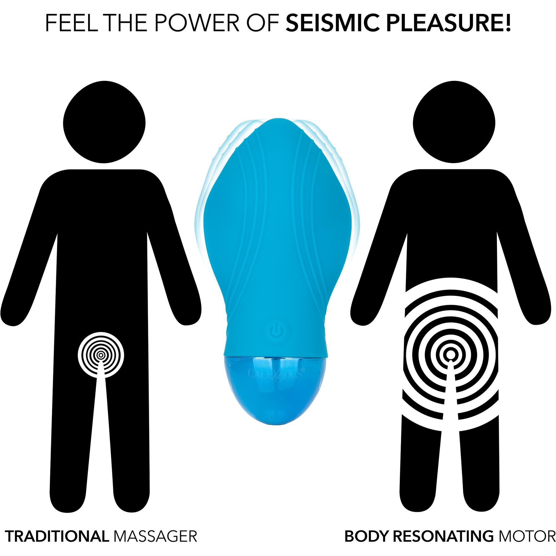Tremble Kiss Waterproof Rechargeable Silicone Seismic Vibrator - Comparison