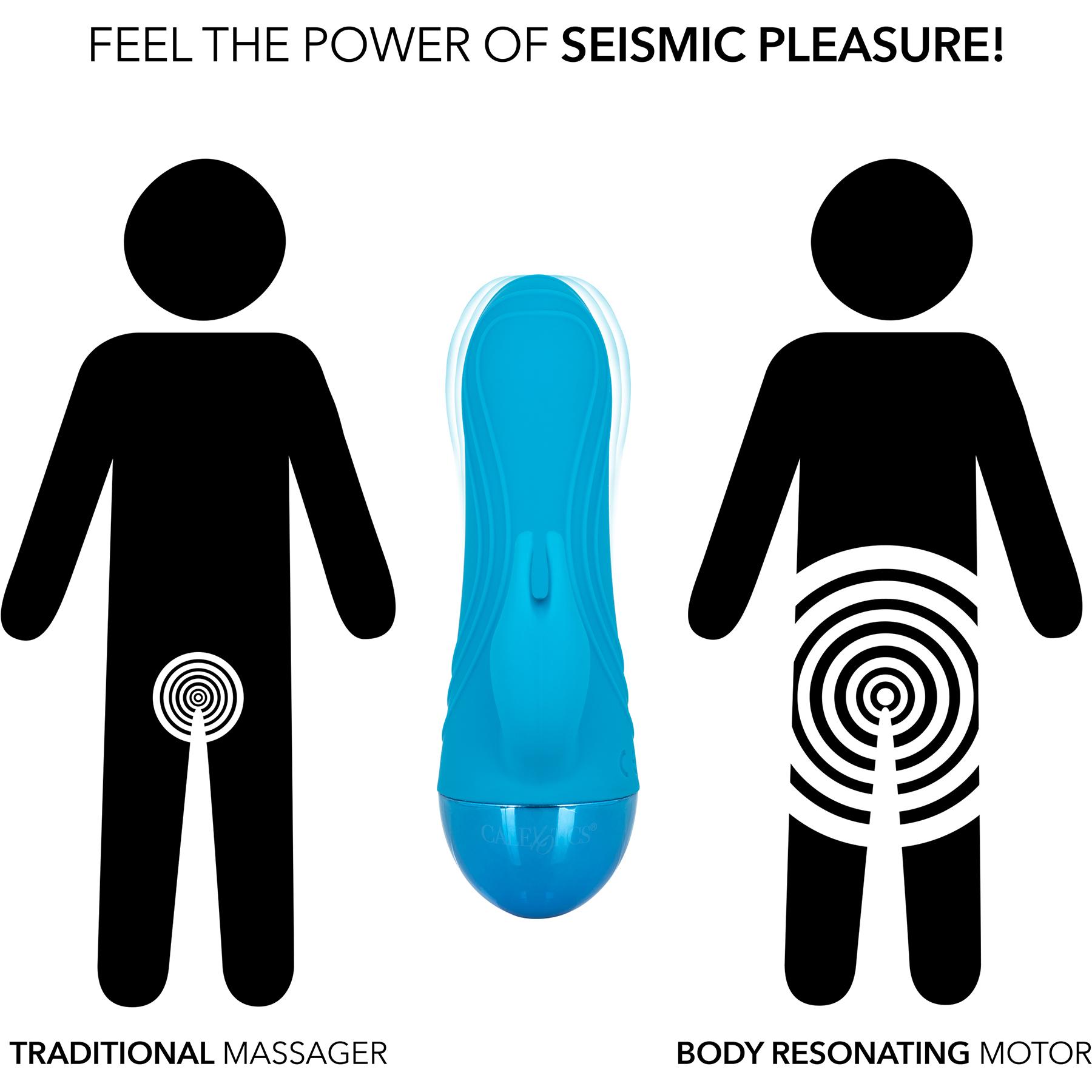 Tremble Please Waterproof Rechargeable Silicone Seismic Rabbit Style Vibrator - Comparison