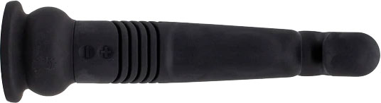 The Velvet Thruster Teddy GS Ultra Powerful G-Spot Thrusting Silicone Dildo - Top View