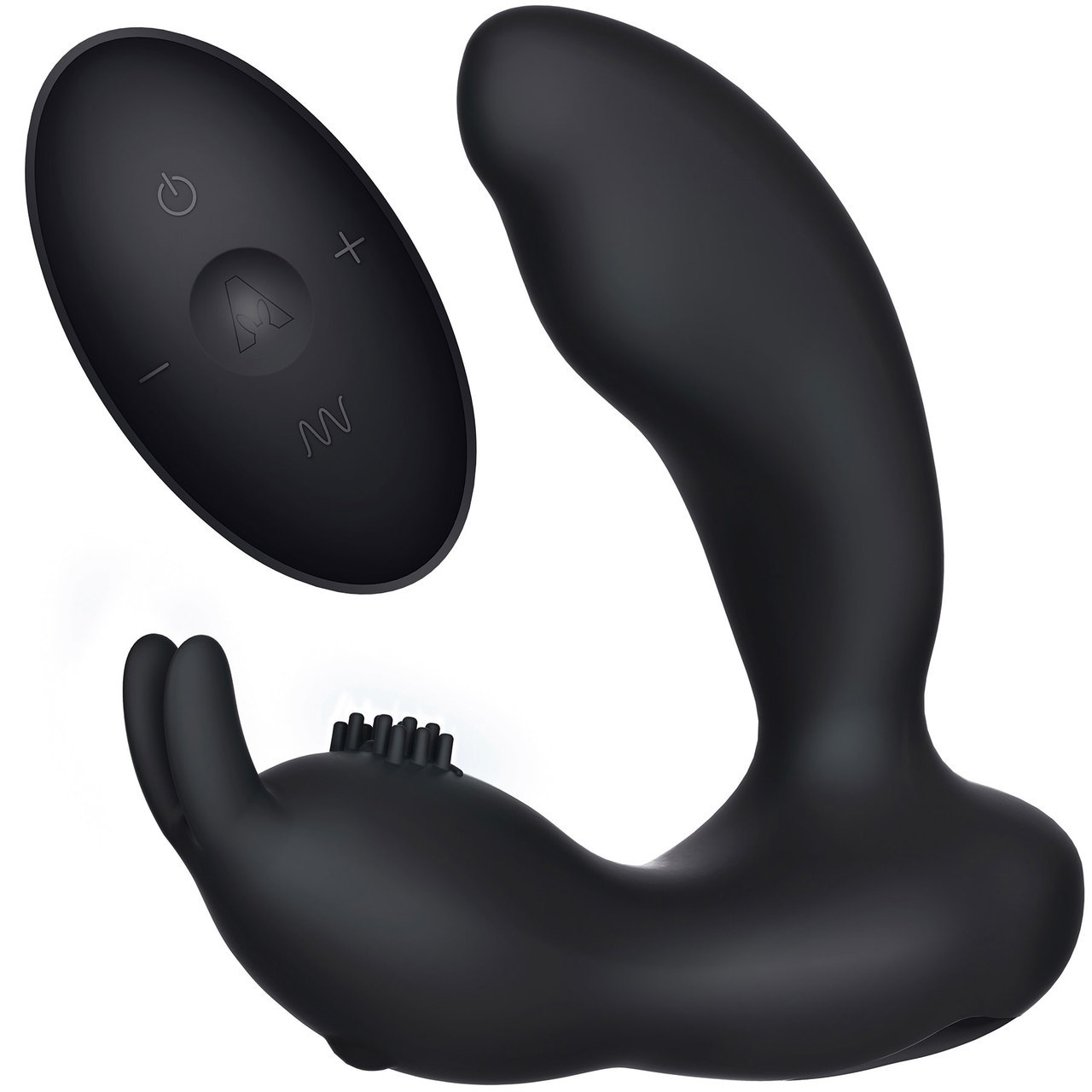 Prostate Rabbit Rechargeable Silicone Wireless Remote Control Anal Stimulator