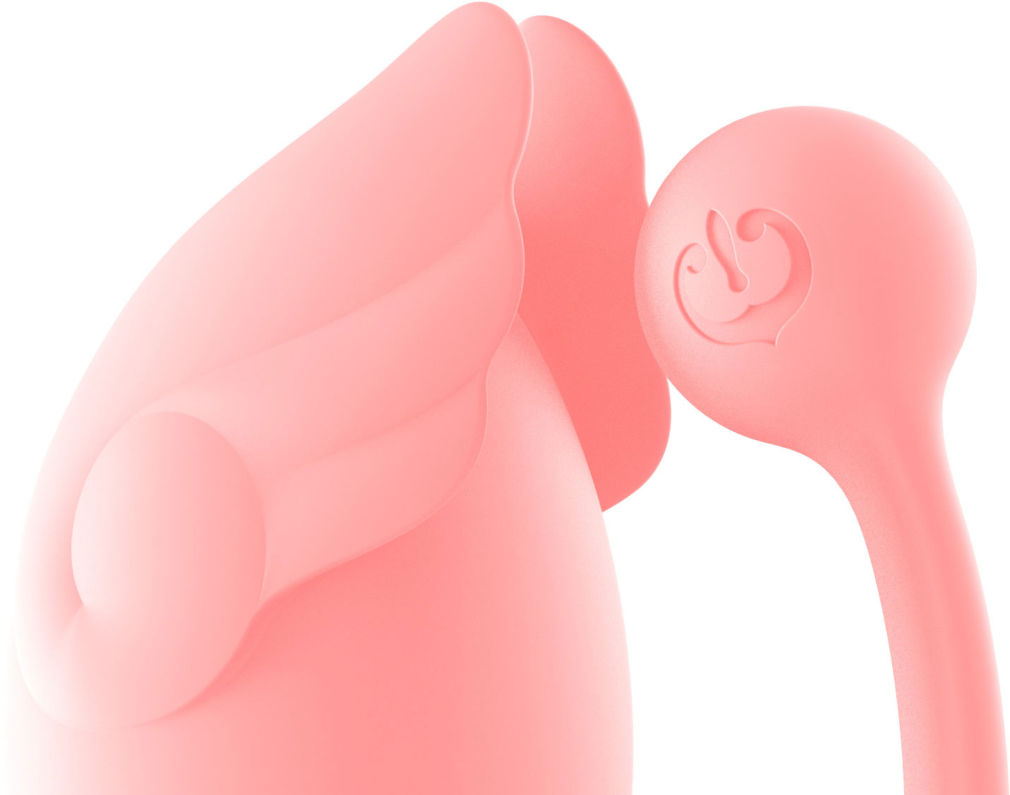 ZALO Amorette Remote-Controlled Silicone Waterproof Rechargeable Vibrating Egg - View Of The Top
