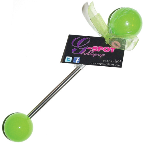 G-Spot Lollipop Double Pop Small / Medium - Wild Apple