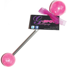 G-Spot Lollipop Double Pop Medium / Large - Passion Pink