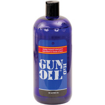 Gun Oil H2O Water-Based Personal Lubricant 32 oz