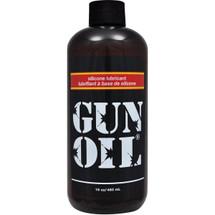 Gun Oil Silicone Personal Lubricant 16 oz