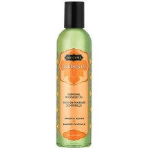 Kama Sutra Naturals Massage Oils Tropical Mango 8 fl oz
