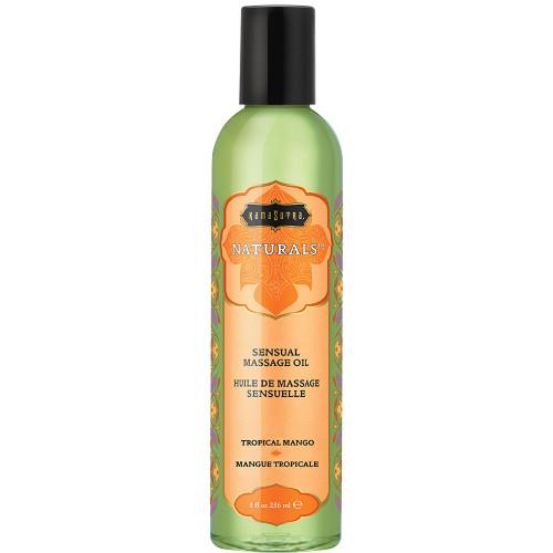 Kama Sutra Naturals Massage Oils Tropical Mango 8 fl oz