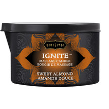 Kama Sutra Ignite Massage Oil Candle - Sweet Almond - 6 oz