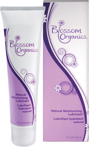 Blossom Organics Natural Moisturizing Lubricant 4 oz
