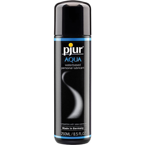 Pjur Aqua Water-Based Personal Lubricant 8.5 oz / 250 ml
