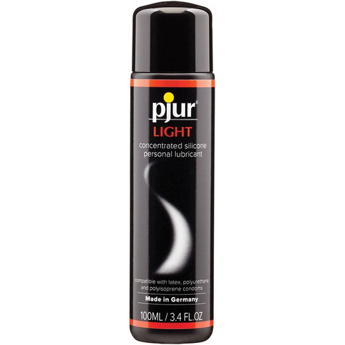Pjur Light Silicone Personal Lubricant 3.4 oz / 100 ml