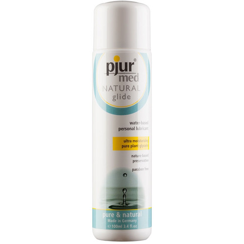 Pjur Med Natural Glide Water Based Lubricant 3.4 oz / 100 ml
