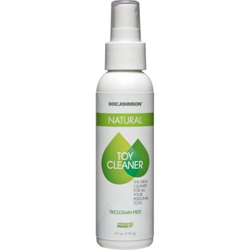Doc Johnson Natural Toy Cleaner - Triclosan-Free Spray 4 fl oz