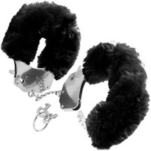 Fetish Fantasy Series Original Furry Cuffs - Black