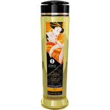 Shunga Erotic Massage Oil - Stimulation - Peach Scented 8 fl. oz
