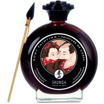 Shunga Edible Body Paint - Aphrodisiac Chocolate 3.5 fl oz