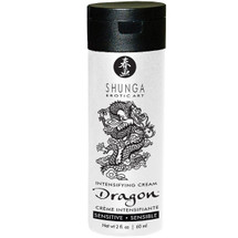 Shunga Dragon Sensitive Intensifying Cream For Couples - 2 oz