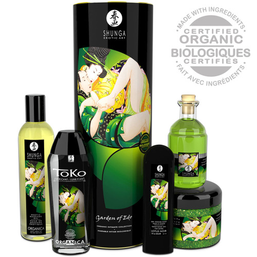 Shunga Garden of Edo Collection - 5 Organic Intimate Products