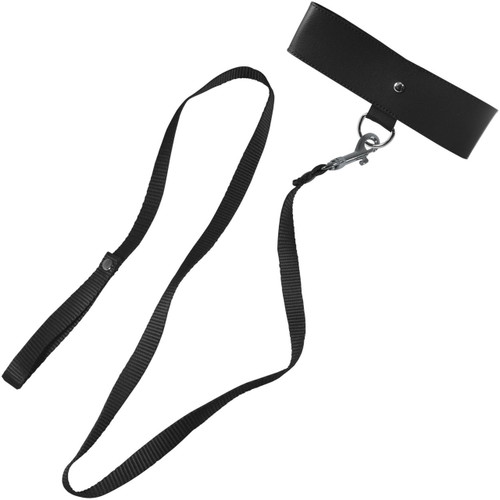 Sex & Mischief Leash And Collar By Sportsheets - Black
