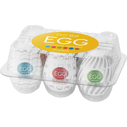 Tenga EGG Penis Masturbator Variety Six Pack - New Standard Edition
