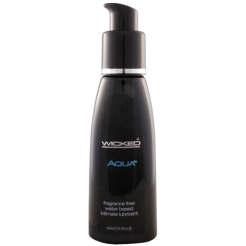 Wicked Aqua Fragrance Free Personal Lubricant 2 oz