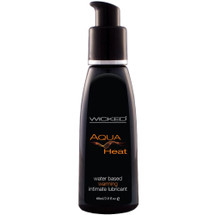 Wicked Aqua Heat Water Based Personal Lubricant 2 fl oz