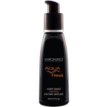 Wicked Aqua Heat Water Based Personal Lubricant 2 fl oz