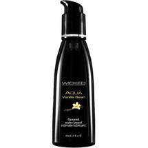 Wicked Aqua Vanilla Bean Personal Lubricant 2 fl oz