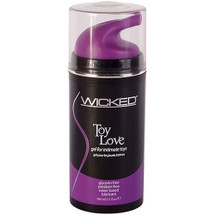 Wicked Toy Love Lubricant Gel For Intimate Toys 3.3 fl oz
