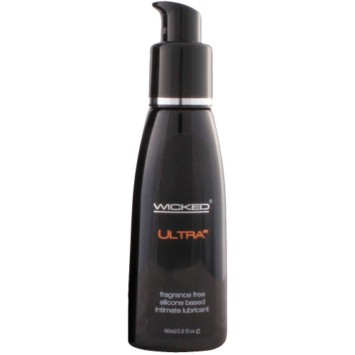 Wicked Ultra Fragrance Free Silicone Personal Lubricant 2 fl oz