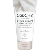 COOCHY Oh So Smooth Shave Cream - Au Natural 3.4 oz (100 mL)