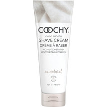 COOCHY Oh So Smooth Shave Cream - Au Natural 7.2 oz (213mL)