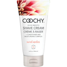 COOCHY Oh So Smooth Shave Cream - Sweet Nectar 3.4 oz (100 mL)