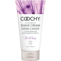 COOCHY Oh So Smooth Shave Cream - Floral Haze 3.4 oz (100 mL)