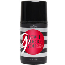 G, How I Adore You G-Spot Stimulant Cream by Sensuva 1.7 fl oz